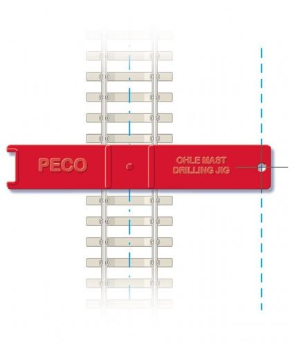 Peco LC-115 Mast Installation Jig x 2 pack
